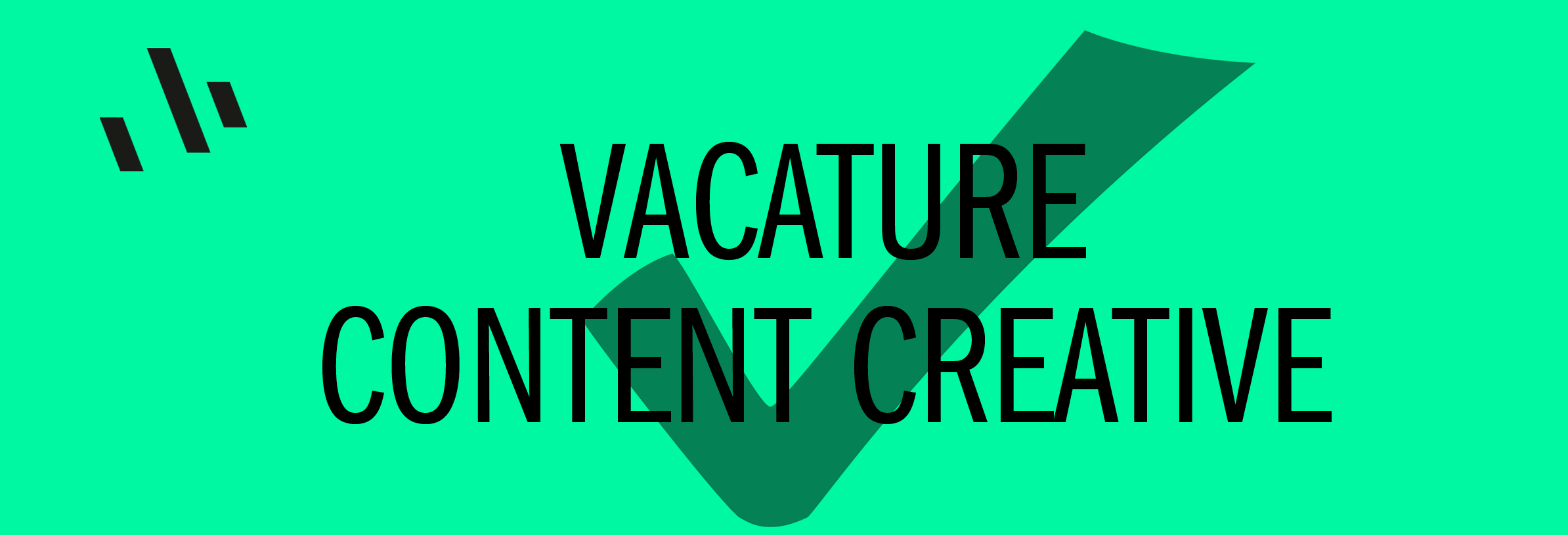 Vacature contentcreative vervuld
