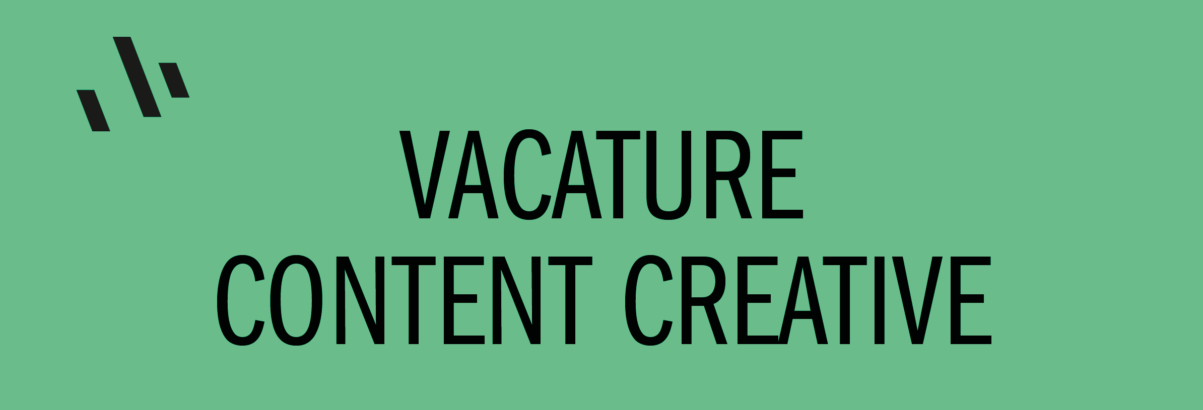 vacature concent creative