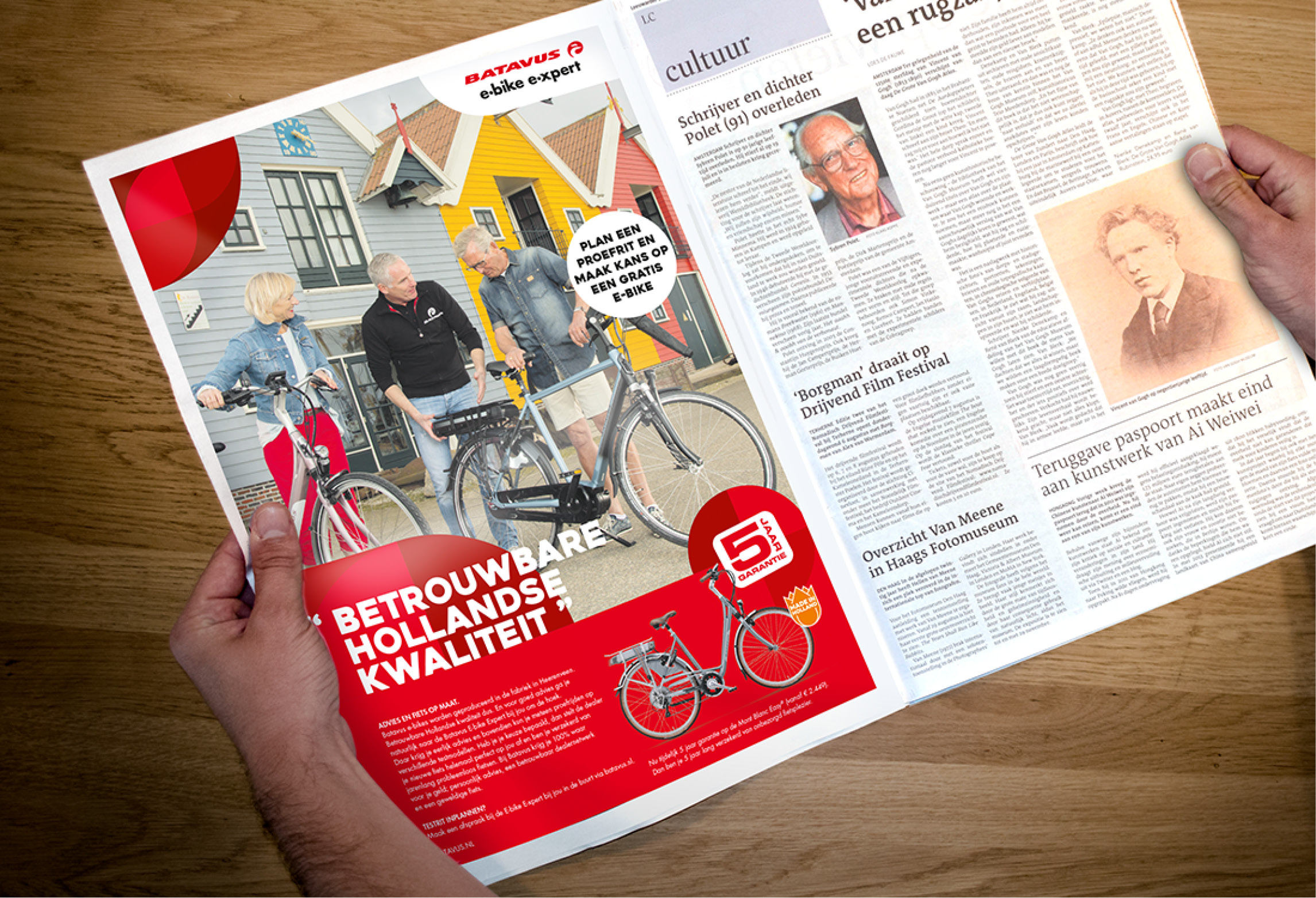 Batavus E-bike E-xpert advertentie