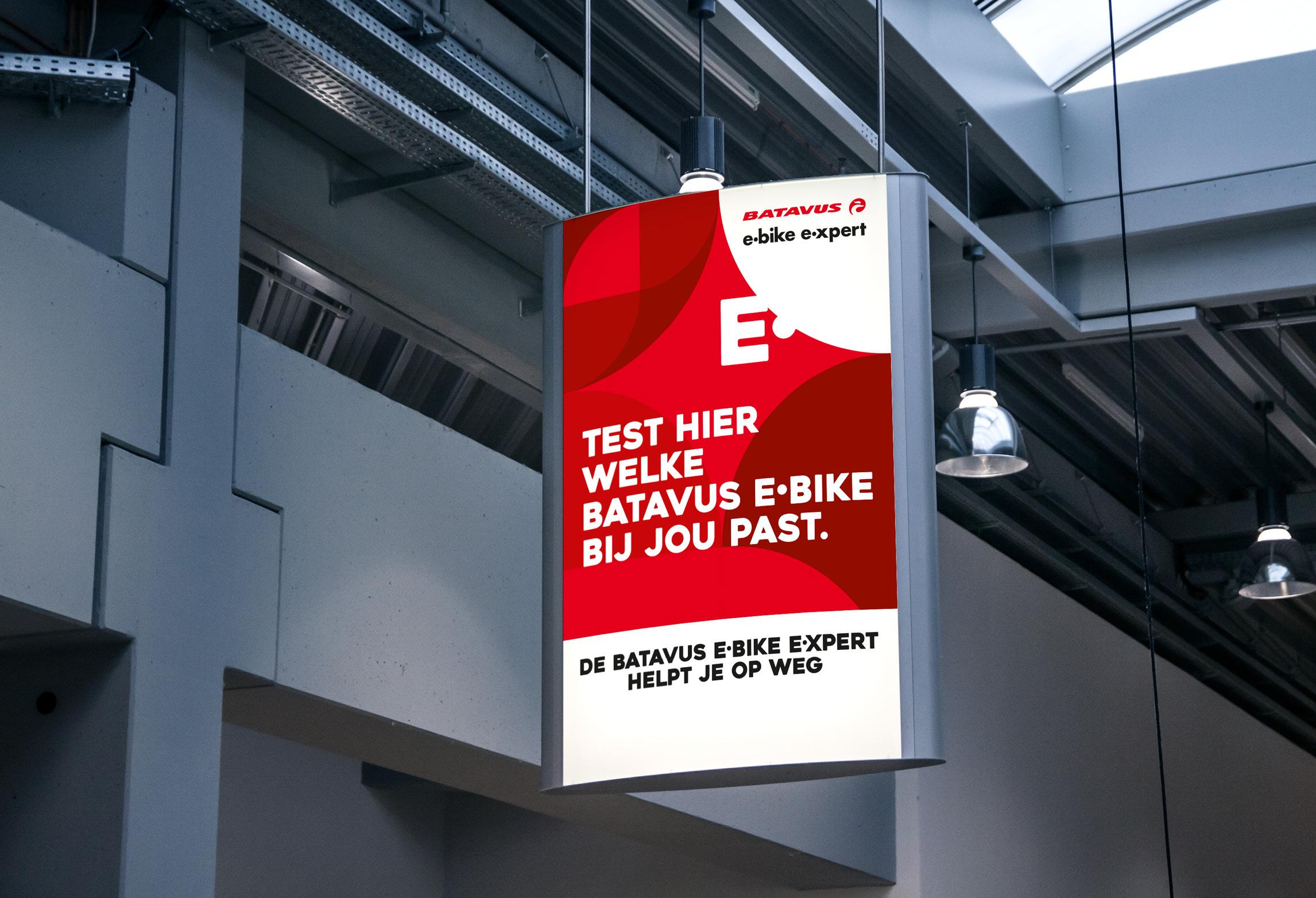 Batavus E-bike E-xpert poster