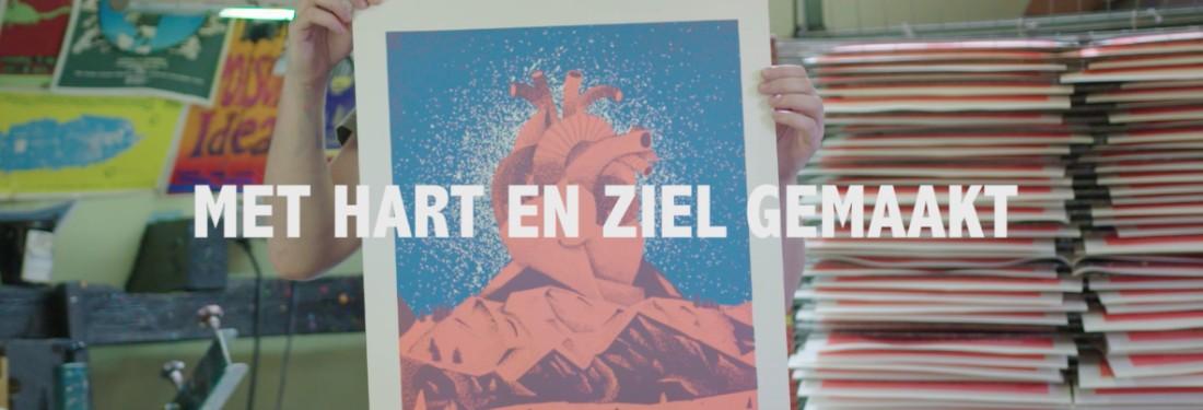 Jelle van Gosliga maakt poster met Hart en Ziel voor TEAM